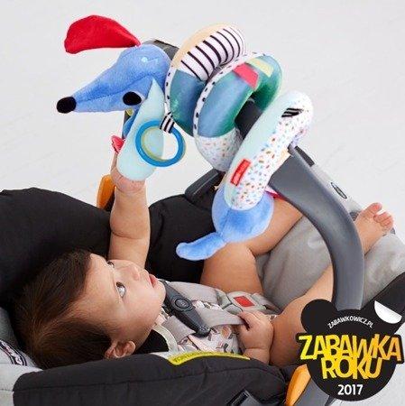 Zabawka do wózka Jamnik Wesołe podwórko