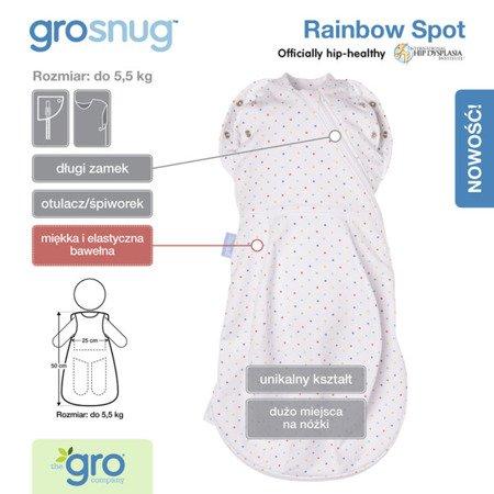 Otulacz-śpiworek Grosnug Rainbow Spot, Gro Company