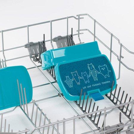 Lassig Lunchbox About Friends niebieski