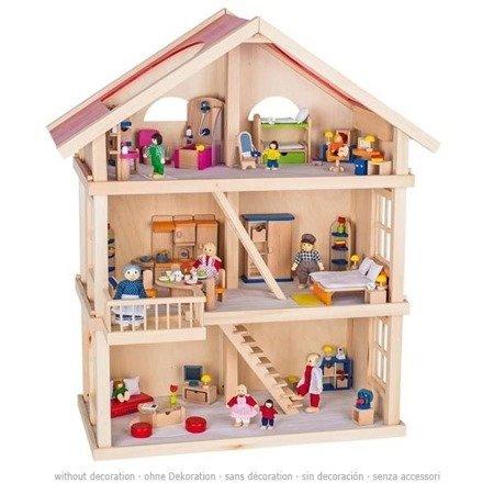 3-piętrowy Domek dla lalek, GOKI-51957