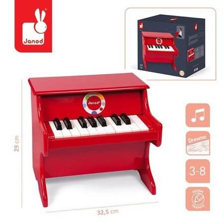 Czerwone pianino Confetti, Janod