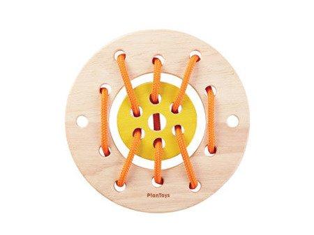 Drewniana sznurowanka, Plan Toys PLTO-5373