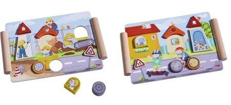 Drewniane Puzzle Budowa i Zabawa