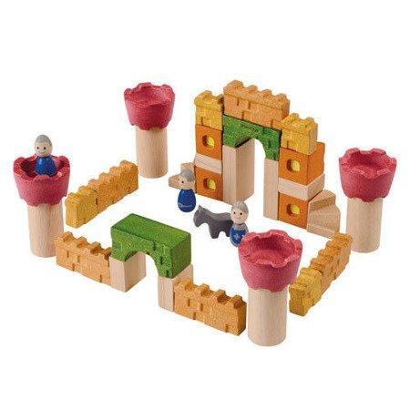 Drewniane klocki Zamek rycerski, Plan Toys®