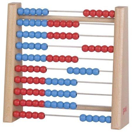 Drewniane liczydło (czerwono-niebieskie). GOKI-58529