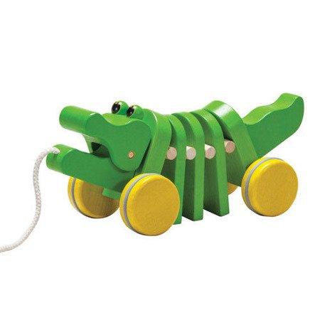 Drewniany krokodyl  do ciągnięcia, Plan Toys®