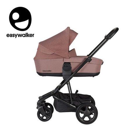 Easywalker Harvey2 Wózek głęboko-spacerowy Desert Pink (zawiera stelaż, siedzisko z budką i pałąkiem)
