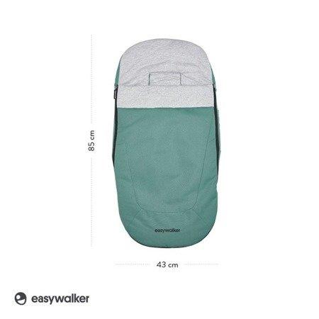 Easywalker Śpiworek do wózka na zimę Coral Green