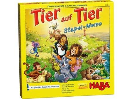 Gra - Zwierzak na zwierzaku pamięciowy
