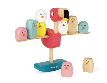 Gra balansowa drewniana Flamingi, Janod