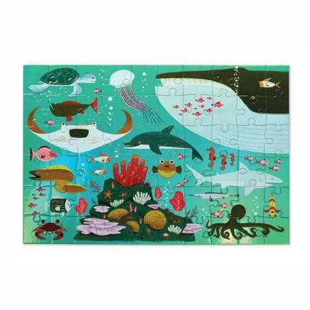 Holograficzne puzzle 60 el. Lśniące morze