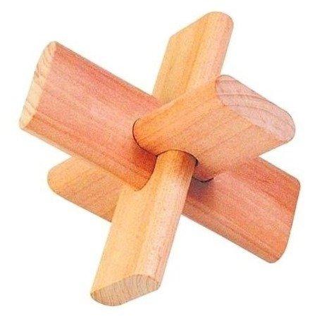 Krzyżyk - układanka logiczna, Goki HS 005