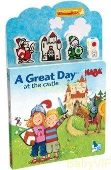 Książeczka Wspaniały dzień w zamku ANG