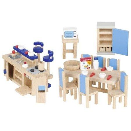 Kuchnia nowoczesna - mebelki do domku dla lalek, GOKI-51718