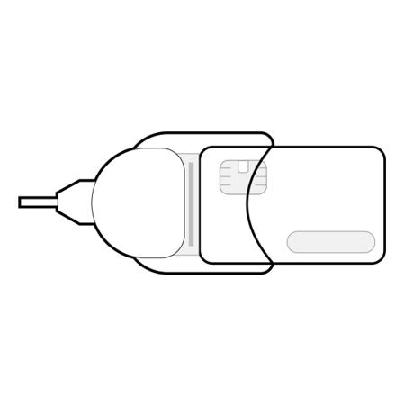 Kwalifikowana pieczęć elektroniczna CenCert - pieczęć na karcie – zestaw  z czytnikiem standardowym