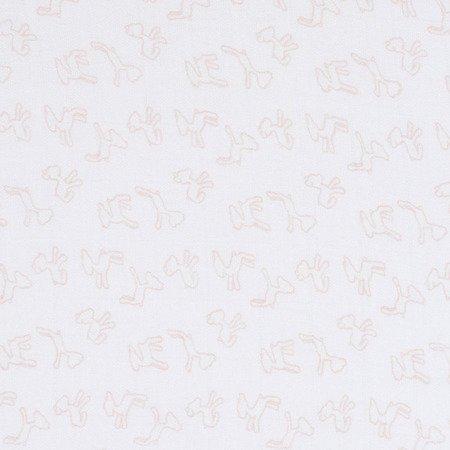 Lassig Bambusowy Otulacz-Kocyk 80x80cm Zestaw 3 szt. Lela pastelowy różowy