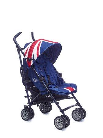 MINI by Easywalker Wózek spacerowy z osłonką przeciwdeszczową  XL Union Jack Classic