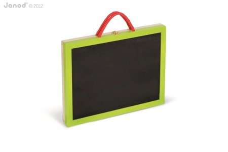 Magnetyczna walizeczka tablica 4w1, Janod