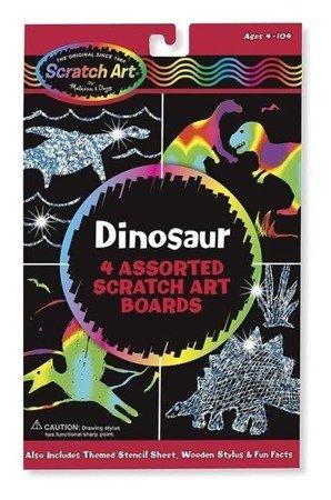 Melissa and Doug Zdrapywanka Dinozaury 4+