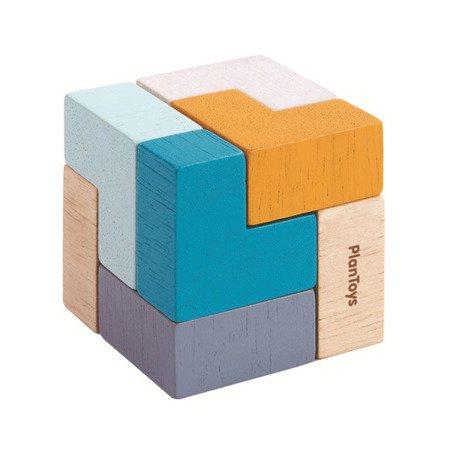 Mini układanka logiczna, sześcian   Plan Toys®