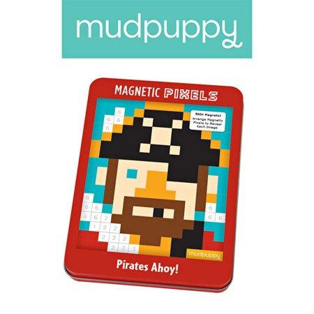 Mudpuppy Magnetyczne piksele Piracki świat 6+
