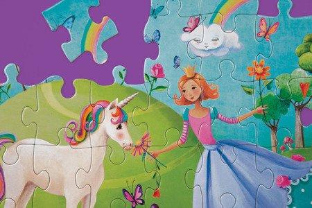 Mudpuppy Puzzle Królestwo Jednorożca 42 elementy 3+