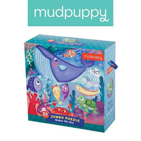 Mudpuppy Puzzle podłogowe Jumbo Podwodny Świat 25 elementów 2+