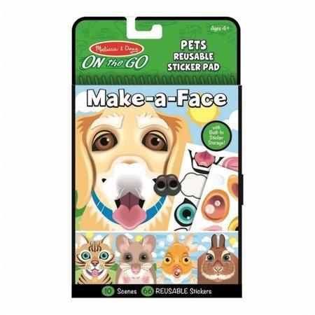 Naklejki Stwórz twarz: Zwierzęta