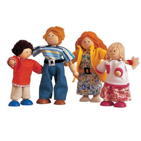 Nowoczesna rodzina lalek do domku dla lalek, Plan Toys®