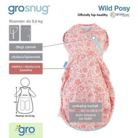Otulacz - śpiworek Grosnug Wild Posy Cosy, GRO Company