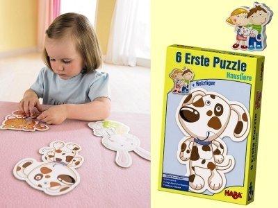 Pierwsze puzzle - Zwierzaki