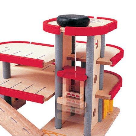 Piętrowy parking/garaż, Plan Toys PLTO-6227