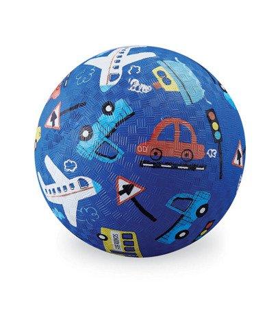 Piłka 13 cm, motyw pojazdy