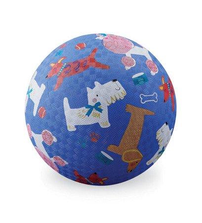 Piłka 18 cm, wzór pieski