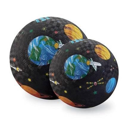 Piłka 18cm, wzór wyprawa kosmiczna, CC