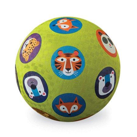 Piłka 5'', 13cm, wzór zwierzęta, Crocodille Creek