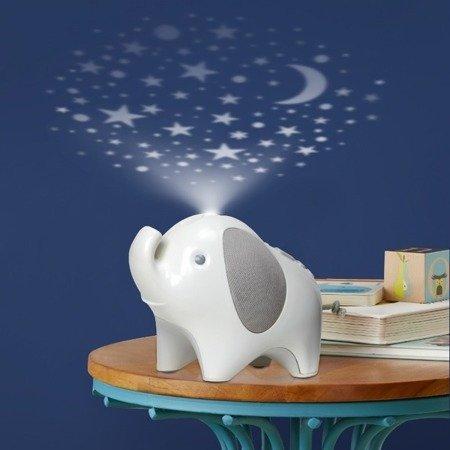 Projektor Słoń z lampką i pozytywką