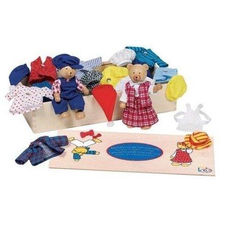 Przebieranka misiów, zabawa w ubieranie postaci, Toys Pure 51914