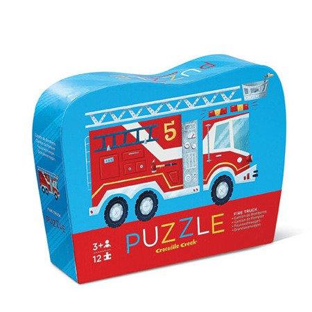 Puzzle 12 el., Straż pożarna, Crocodile Creek