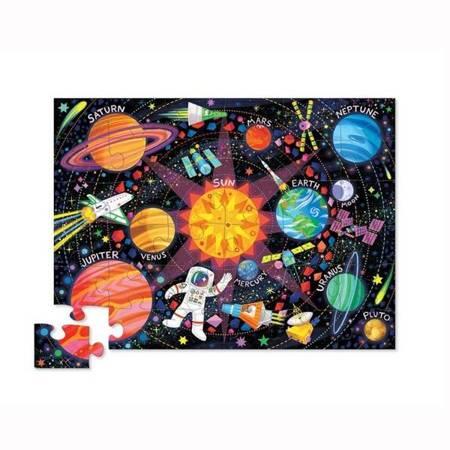 Puzzle 36 el. Wyprawa kosmiczna