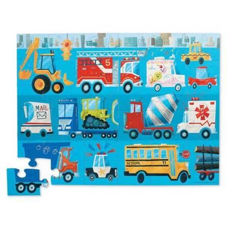Puzzle 36 el. motyw Pojazdy
