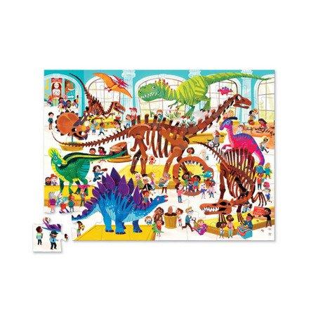 Puzzle 48 el., Dzień w muzeum - Dinozaury, Crocodile Creek 4063-1