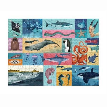 Puzzle 500 elem. Morscy Giganci
