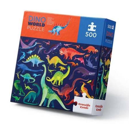 Puzzle 500 elem. Świat dinozaurów