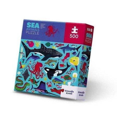 Puzzle 500 elem. Zwierzęta morskie