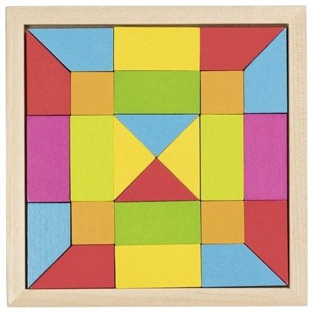 Puzzle mozaika - kolory tęczowe