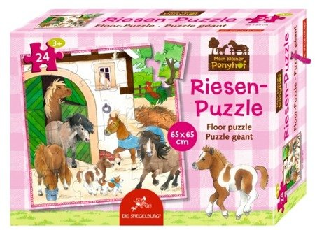 Puzzle podłogowe Konik Pony