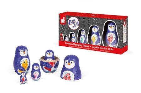 Rodzina pingwinów matrioszki, Janod