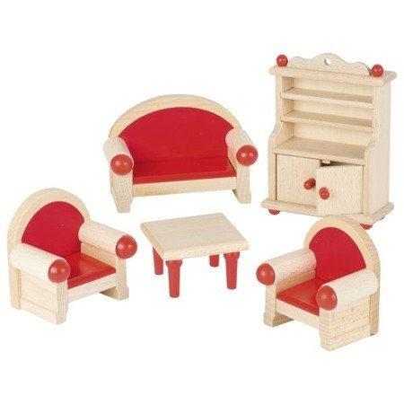 Salon - mebelki do domku dla lalek, GOKI-51952