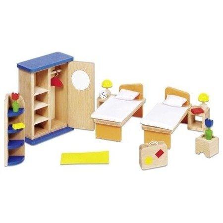 Sypialnia do domku dla lalek
